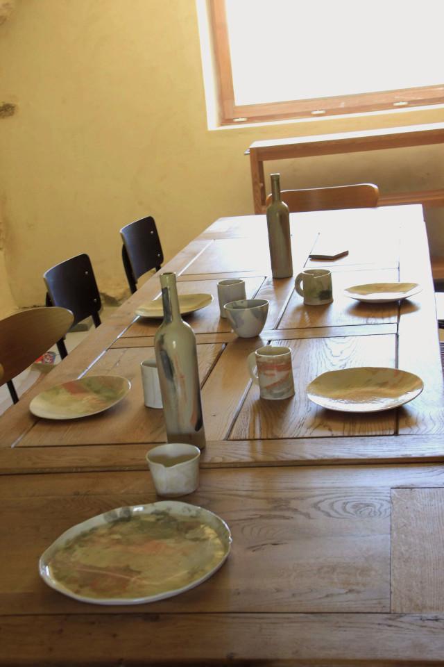 Table de réception L'espace
