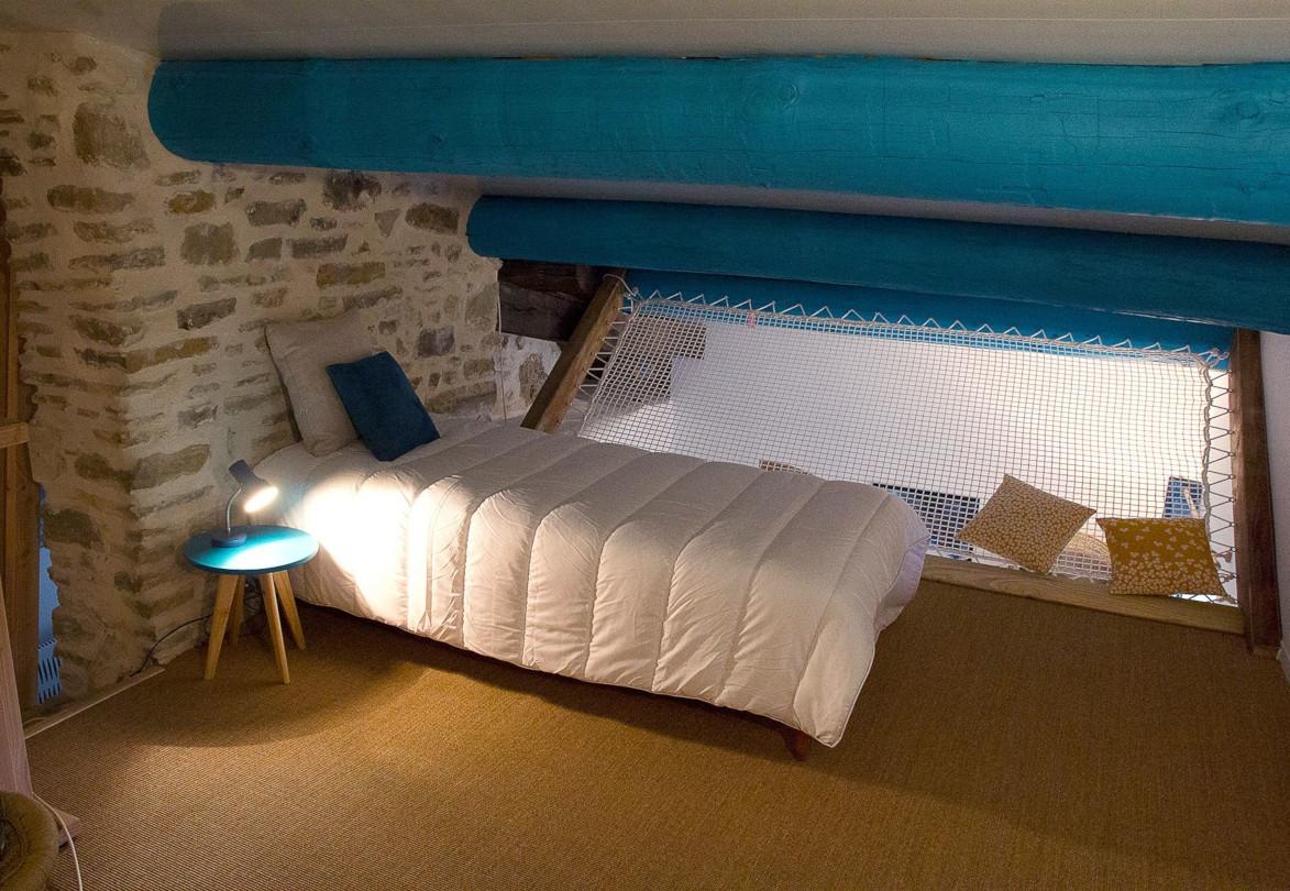 Chambre mezzanine chambre d'hôte Eau