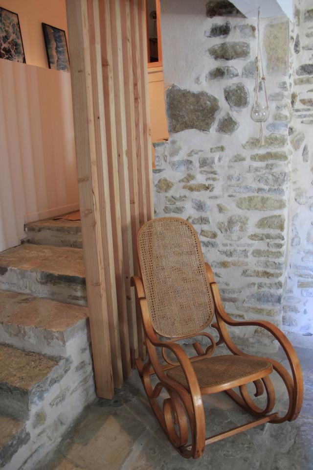 Rocking chair chambre d'hôte Eau